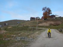 Cold morning on the way down, 9 Oct 14