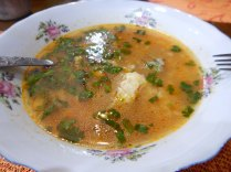 Classic Georgian soups, 9 Oct 14