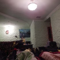 Bizarre room at the guesthouse, 9 Oct 14