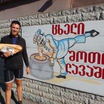 Amazing bread in Gori, birthplace of Stalin, 11 Oct 14
