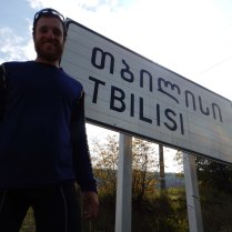 into Tbilisi, 12 Oct 14