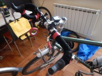 Winterizing the bikes, 14 Oct 14