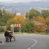 On the way to Gombori Pass, 15 Oct 14