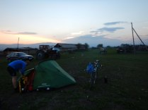 Camping out with jackals and wolves, 16 Oct 14