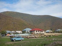 Typical Azeri village, 18 Oct 14