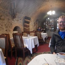 Caravanserai in Sheki - rest stop on the Silk Road, 19 Oct 14