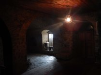 Inside the caravanserai at Sheki, 19 Oct 14