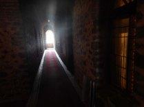 Inside the caravanserai at Sheki, 19 Oct 14