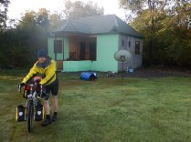 Leaving our summer cottage, 21 Oct 14