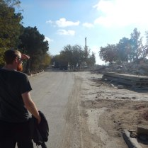 Looking for the ferry terminal to Turkmenistan, 24 Oct 14