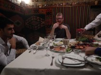 Amazing meal in caravanserai, 24 Oct 14
