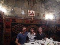 with Askar in Baku, 24 Oct 14