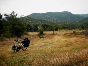 Bikes come to rest