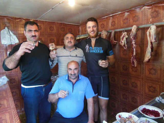 Shots in a butcher's in Azerbaijan