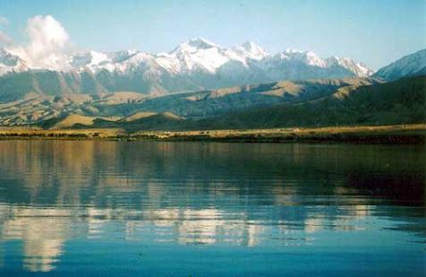 Issyk Lake in Kyrgyzstan