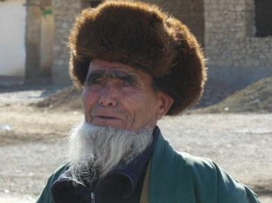 Uzbek man on the Silk Road