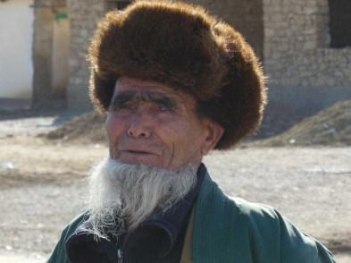 Uzbek man on the Silk Road