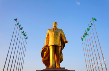 The main man in Ashgabat