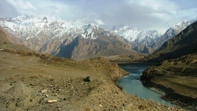 Pamir Mountains - all this fun to come