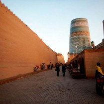 Arriving in Khiva, 8 Nov 14