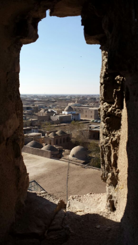 Khiva old town, 9 Nov 14