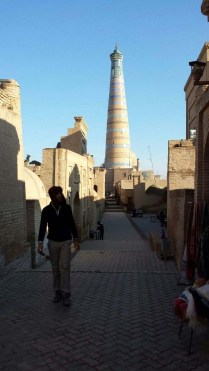 Nick in Khiva, 9 Nov 14