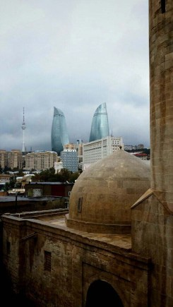 Baku old and new