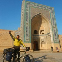 Nick in Bukhara, 15 Nov 14