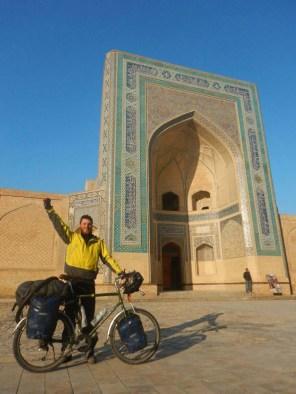 Nick in Bukhara, 15 Nov 14