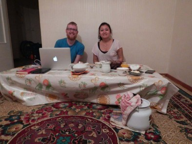 Teatime in Kazakhstan