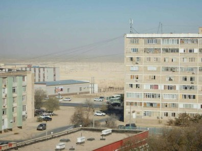 Aktau, on the edge of the desert