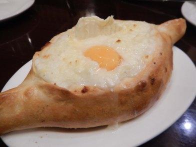 Georgian national dish, khatchapuri