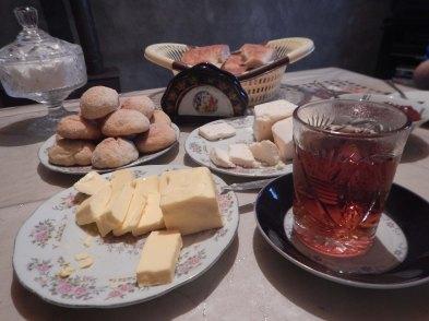 Breakfast - ideal amounts of butter ...