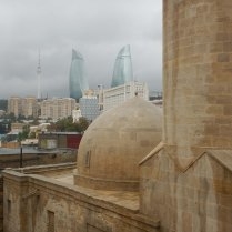 Baku old and new, 26 Oct 14