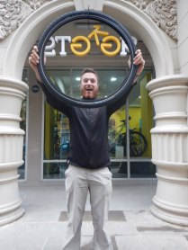 the only Marathon tyre in Central Asia, 27 Oct 14