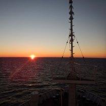 Dawn at sea, 30 Oct 14