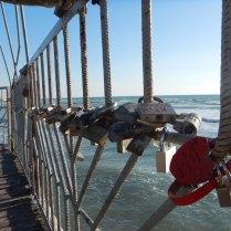 Love locks on the Caspian, Aktau, 31 Oct 14