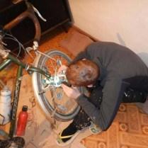Bike repairs, 2 Nov 14