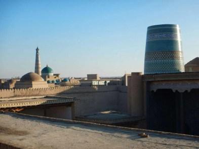 View over Khiva