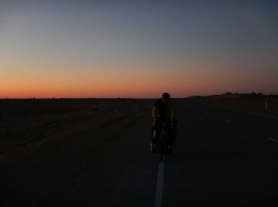Sunset riding before it gets grim, 11 Nov 14