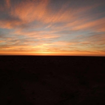 Another desert sunset, 12 Nov 14