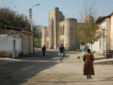 Bukhara new and old, 14 Nov 14