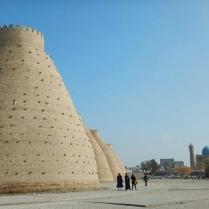 Castle wall, Bukhara, 14 Nov 14