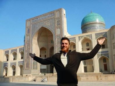 The central madrassah, Bukhara