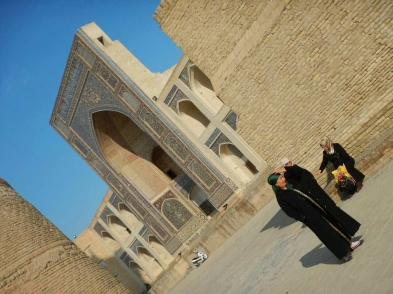 Central madrassah, Bukhara, 14 Nov 14