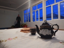 Tea at our host's, 16 Nov 14