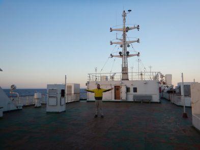 Deserted top deck