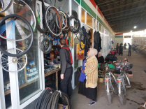 Lobby in Dushanbe bazaar, 25 Nov 14
