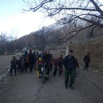No subtle village entrance in Afghanistan, 11 Dec 14