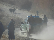 The forces of law and order, Afghanistan, 15 Dec 14